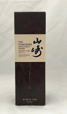 Yamazaki Sherry Cask 2016 Single Malt Whisky 700mL