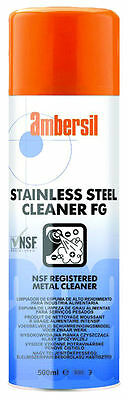 Limpiador A7 C1 De Acero Inoxidable Stainless Cleaner Fg  Ambersil 30249 500Ml