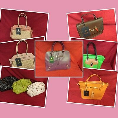 Selection Of 40 Ladies Handbags, Current Stock, Job lot, RRP £30 Each, Mixed