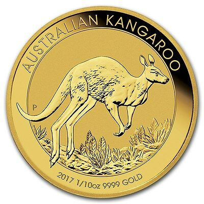 AUSTRALIE 15 Dollar Or 1/10 Once Kangourou 2017 - 1/10 Oz Gold Kangaroo