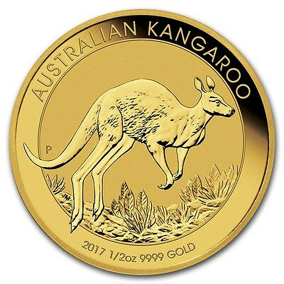 AUSTRALIE 50 Dollar Or 1/2 Once Kangourou 2017 - 1/2 Oz Gold Kangaroo