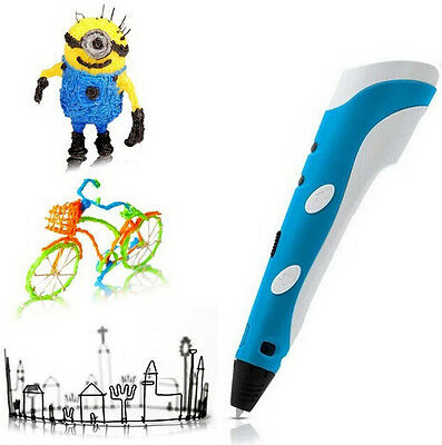 3D Printing Drawing Pen Crafting Modeling ABS Filament Arts Printer Tool Gift