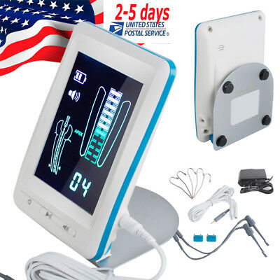 "4.5 "" LCD Dental Endodontic Apex Locator Root Canal Meter+ 2 Tester  5 Lip Hook"