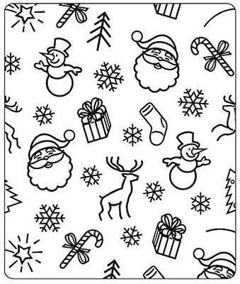 Crafts Too Embossing Folder Cardmaking Christmas Background Stocking Ctfd4007