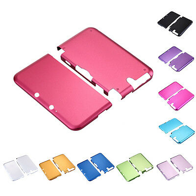Aluminum Hard Metal Protective Cover Case Shell For Nintendo 3DS XL LL colors