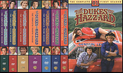 The Dukes of Hazzard:Complete Series Seasons 1-7(DVD,40 Discs,7 Sets)NEW