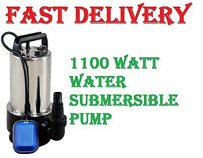New 1100W Universal Dirty Water Pump Submersible Automatic Electric Pond Pumps