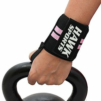 Weight Lifting Ladies Wrist Wraps Pink Bandage rdx Hand Support Gym Straps Fist