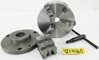 "SAVON 6"" 3 Jaw Manual Lathe Chuck 1-1/2"" x 8 Spindle Mounting"