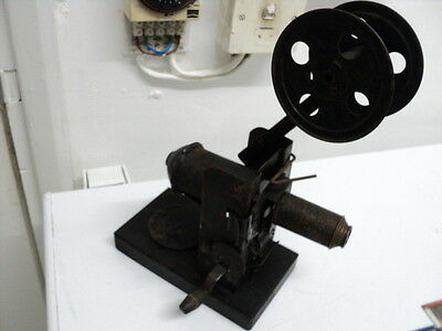 Very Rare Antique Hand Winding Projector