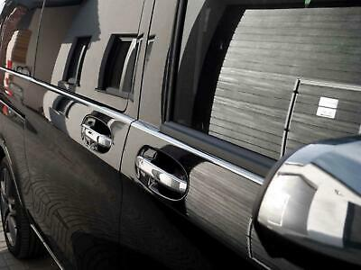 Stainless Steel Chrome 5 Door Handle Cover Trim Set Fits Mercedes Vito (2014 on)
