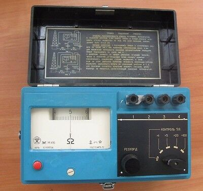 Earth Ground Tester M416