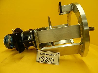 MRC Materials Research A114569 Stepper Motor Assembly Eclipse Star Used Working