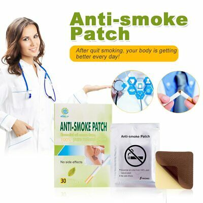 30 Herbal Nicotine Stop smoking patches Quit smoking anti smoking patch UK FREE
