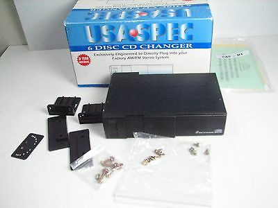 USA SPEC SCD-A88iH FACTORY SYSTEM Add On 6-disc changer adapter