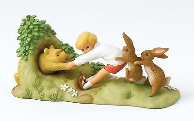 Disney Pooh Classic 90th Anniversary Winnie The Pooh Figure Ornament 8cm A27728