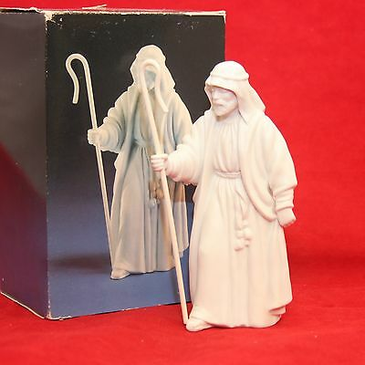 Avon Christmas Nativity Collection THE SHEPERD Porcelain Figurine w/ Box