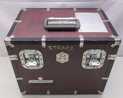 Eagle Luggage Company Box Hard Case Trunk Storage Dataserv Racine Wis. USA Heavy