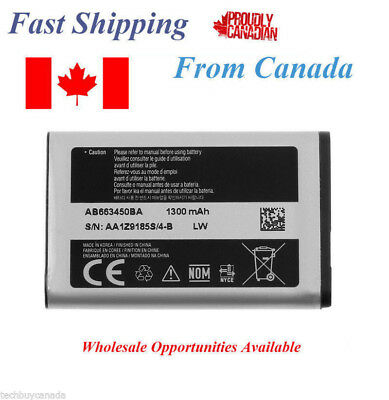 Samsung Battery for Rugby 2 A847 SGH-A847 RUGBY 2 - AB663450BA