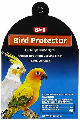 8In1 Bird Protector Large Mite & Lice 8 In 1 Wild All Bird Free Ship To The Usa