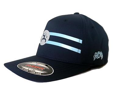 sports shoes c9a7f d2a5e ... coupon for hooey mens hat baseball cap golf navy light blue stripe logo  flex fit 1614nv