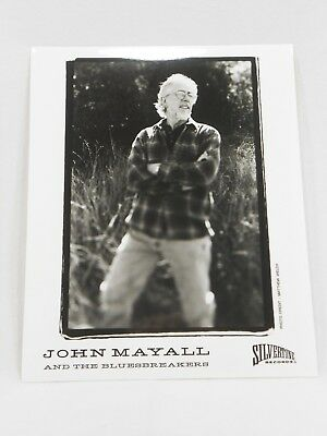 8x10 Black & White Promo Press Photo of John Mayall and The Bluesbreakers
