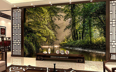Netherlands Forests Bekendel Full Wall Mural Photo Wallpaper Print Home 3D Decal