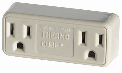 Farm Innovators TC-3 Cold Weather Thermo Cube Thermostatically Controlled Outlet