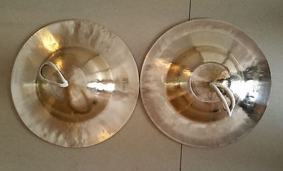 28 CM Hand Cymbals (pair) - typically found in Peking Opera Musical Instruments