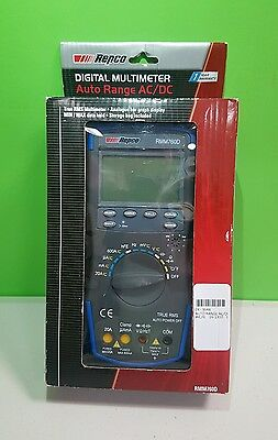 Repco Digital Multimeter Auto Range AC/DC 60mV-1000V