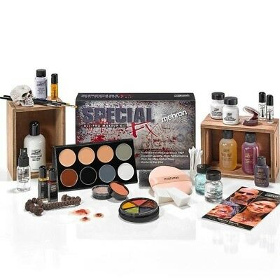 Mehron Special Fx Kit Zombie Halloween Casualty Simulation