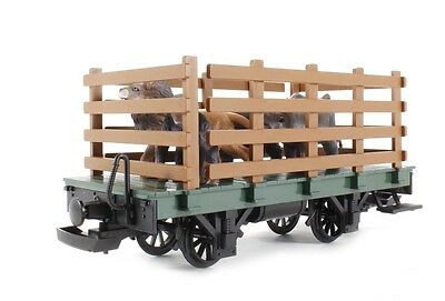 Lgb - 94062 Cage Car With Animals Load 'G' Scale