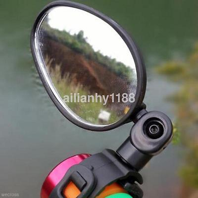 High Quality Universal Bicycle Bike Convex Side Rear View Mirror Handlebar au