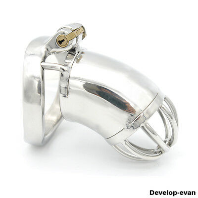 Latest Design Male Chastity Large Devices Stainless Steel A278