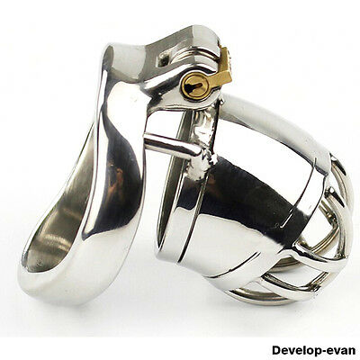 Latest Design Male Chastity Small Devices Stainless Steel A271