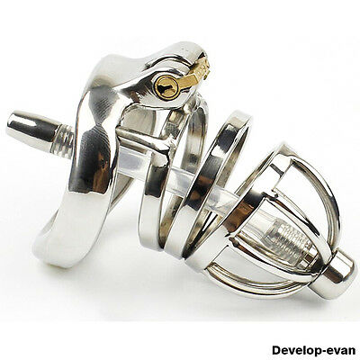 Latest Design Male Chastity Devices Stainless Steel new Lock Small Cage A275-1