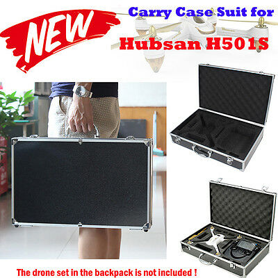 Hard Case for Hubsan x4 H501S FPV RC FPV Helicopter & Prop & Battery & Parts Bag