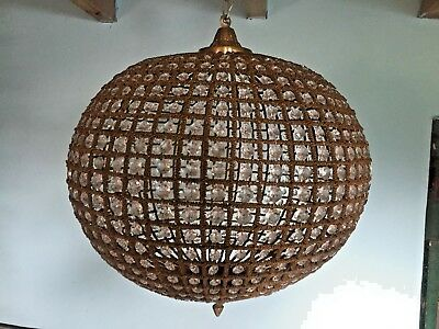 Special model of round chandelier in French style - FREE SHIPPING