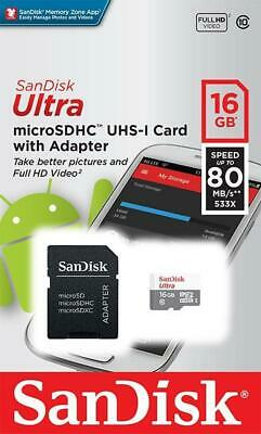 Sandisk 16gb Micro SD Card for HTC Desire, HD mini, HD2