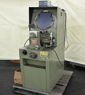 """GENX 14"""" Optical Comparator 10x Lens 6"""" x 13"""" Stage Model 4315"""
