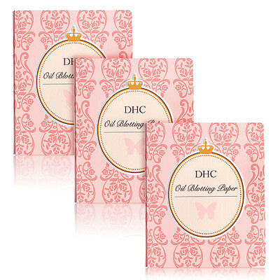 DHC Blotting Papers 3 Pack, includes four free samples
