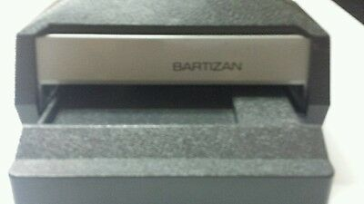 Bartizan credit card imprinter processer