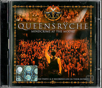 QUEENSRYCHE mindcrime at the moore - live 2CD 2007 Rhino Heavy Metal