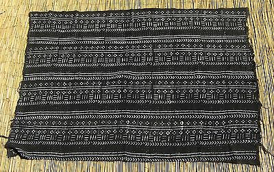"African Bamana Bambara  mud cloth Textile from Mali 40"" x 60"""