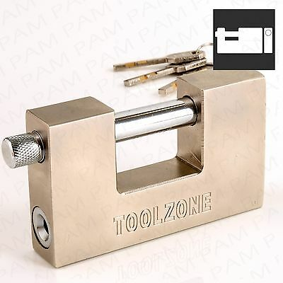 100mm Large ANTI-THEFT Shutter Padlock High Security Container/Shop Door Lock Up