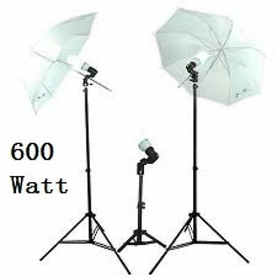 600 Watt photography or video continuous lighting kit (VL-303)