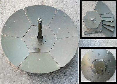 Original Military Parabolic Folding Antenna Communication Thales Racal U.k Radio