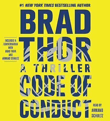 CODE OF CONDUCT unabridged audio book on CD by BRAD THOR
