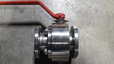 "2"" 150# JC Metal Seated Ball Valve Full Port 316 Stainless Steel. Fig.# 2515"