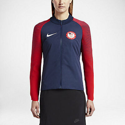 Limited Edition Team USA Wmns Nike 2016 Rio Olympics Medal Stand Full Zip Jacket